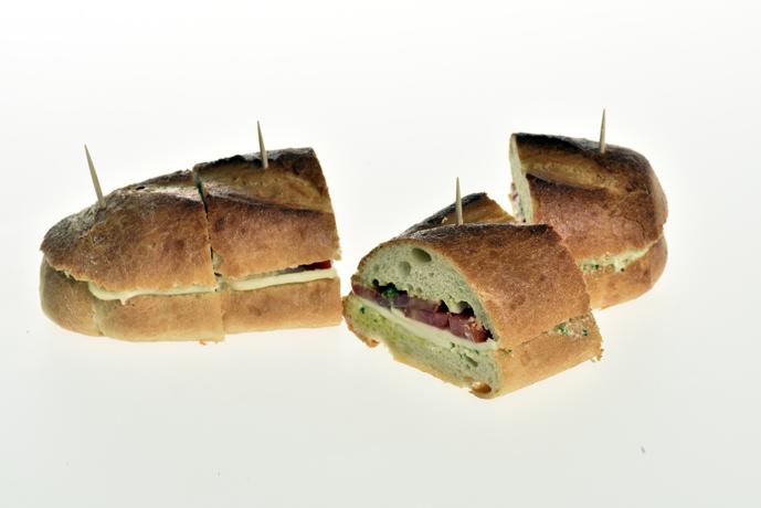 Sandwich mit Tomaten / Mozzarella