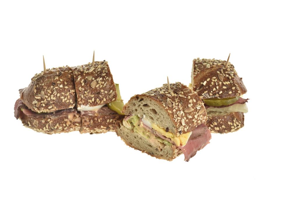 Sandwich mit Roastbeef