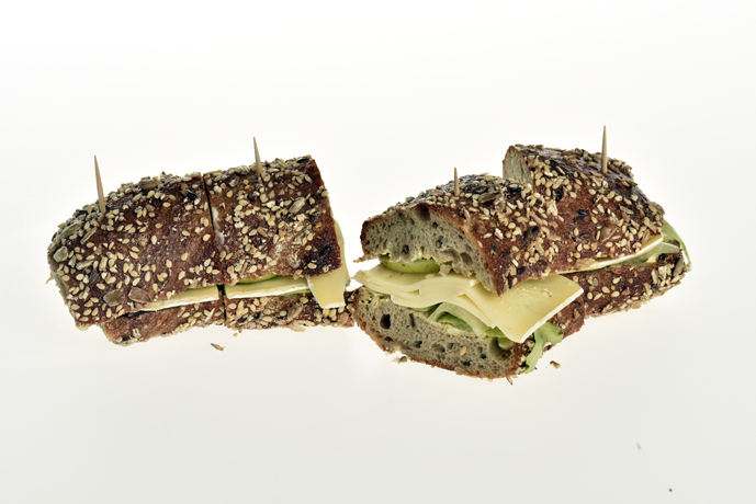 Sandwich mit Brie