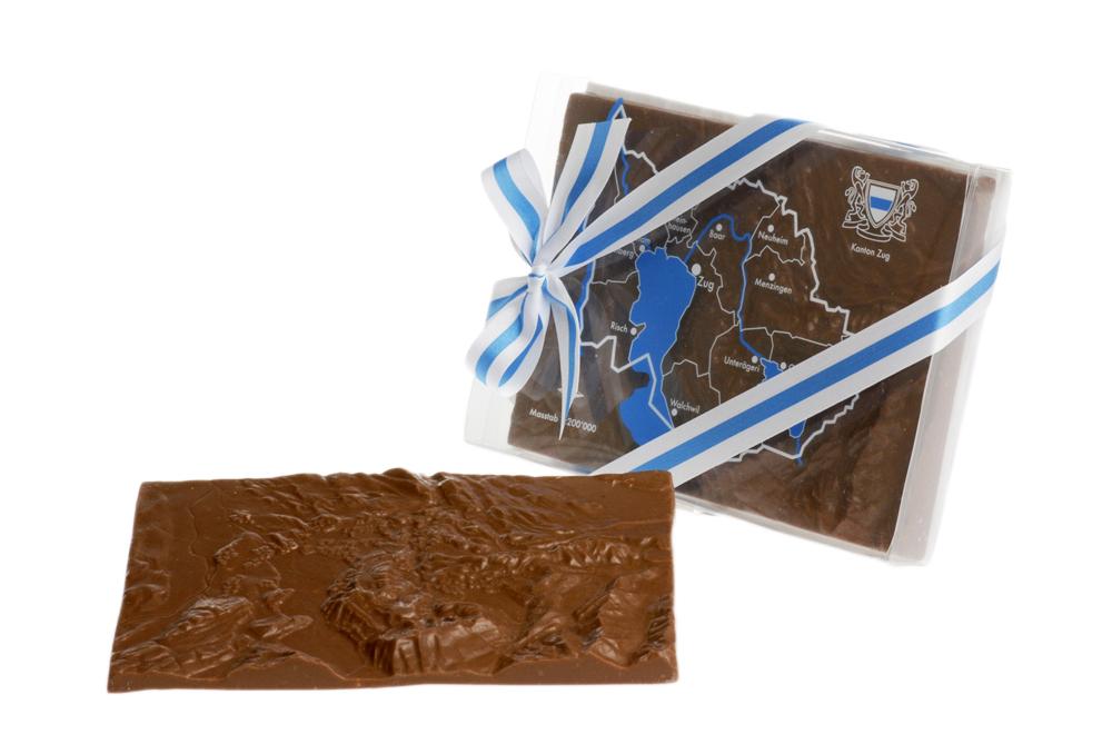 Relief au chocolat