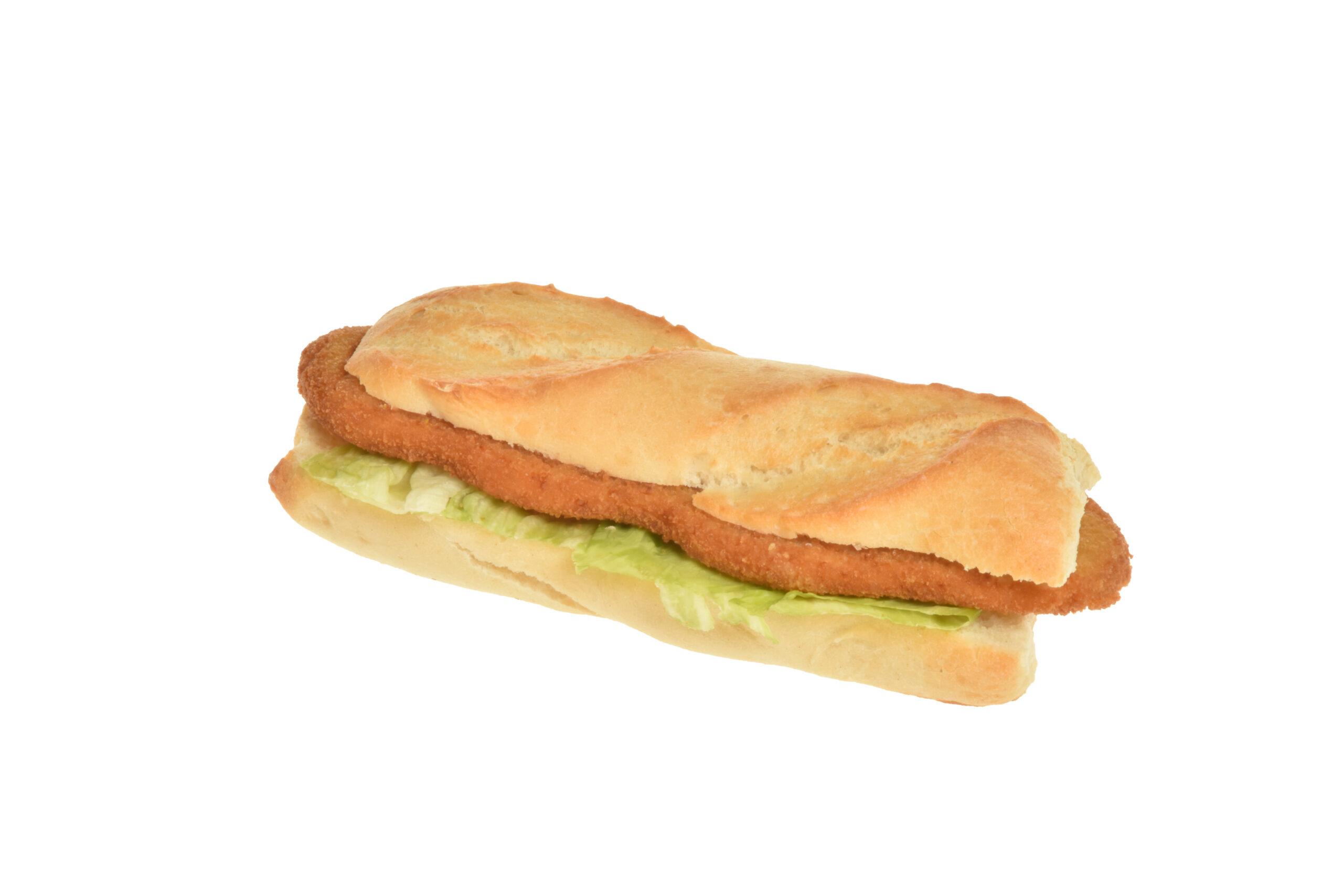 Sandwich mit Schnitzel